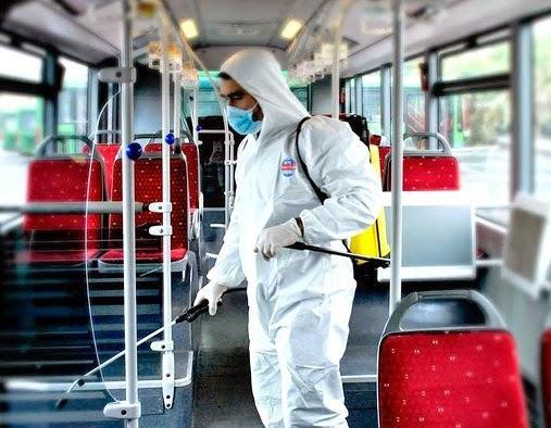 otobüs ilaçlama